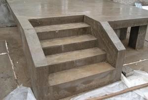 Как сделать бетонные ступени на крыльце