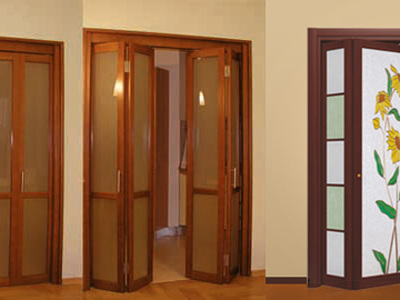 Размеры пластиковых дверей гармошка – примеры