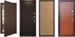 Входные двери из металла - удобно и надежно.
