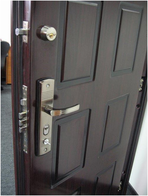 Бронированная дверь имеет некоторые отличия в конструкции от обычной.
