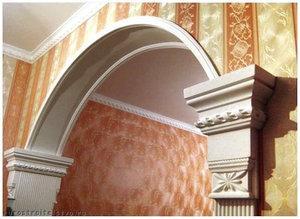 Арки из гипсокартона в прихожей: дизайн, фото