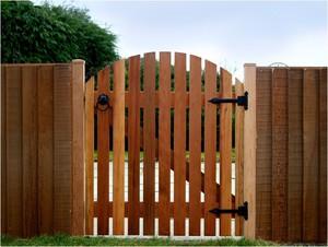 Калитки и ворота для дачного дома