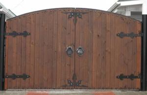 Ворота и калитки для загородных домов