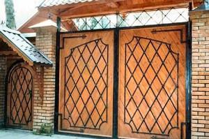 Как собрать входные ворота