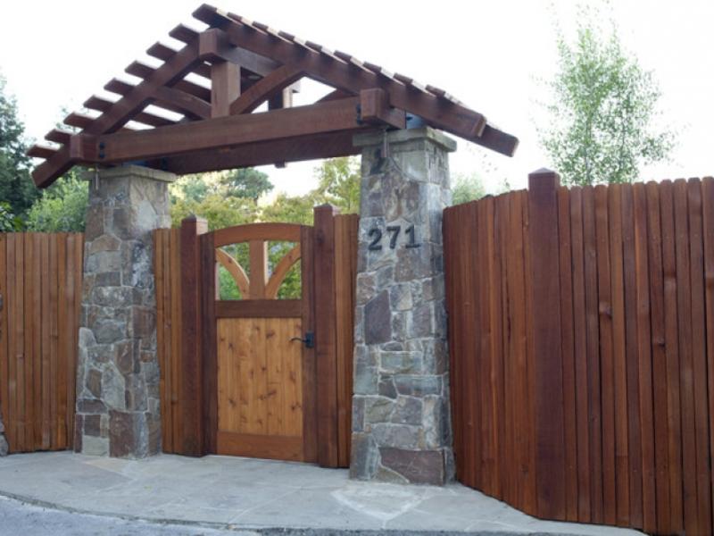 Ворота из профнастила с элементами ковки своими руками фото фото 259