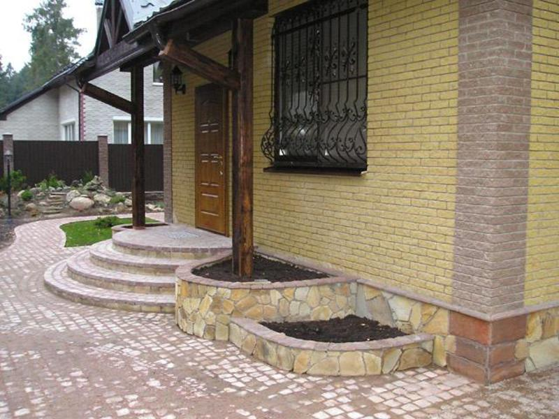 Дизайны крылец частный дом