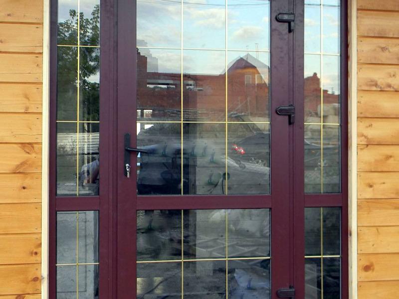 Виды пластиковых дверей