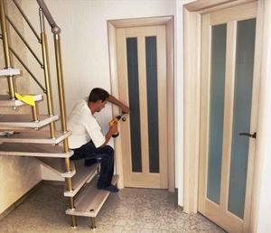 Установка межкомнатных дверей своими руками: конструкция, смотреть видео монтаж работ
