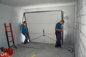 Изготовление подъемных гаражных ворот своими руками