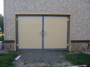 Тип гаражных ворот
