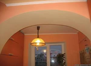 Разновидности арок в дверной проем