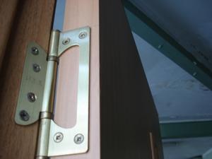 петли дверные накладные без врезки