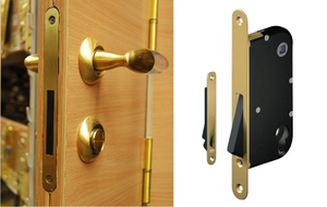 Магнитная защёлка для межкомнатных дверей