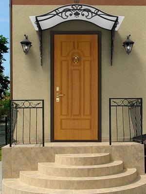 Двери уличные утепленные