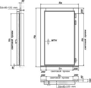 Двери входные металлические размеры стандарт