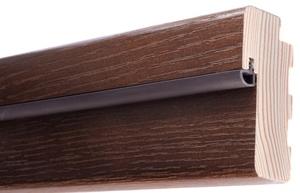 Уплотнительная резинка на дверь: преимущества, установка на межкомнатные и металлические входные конструкции