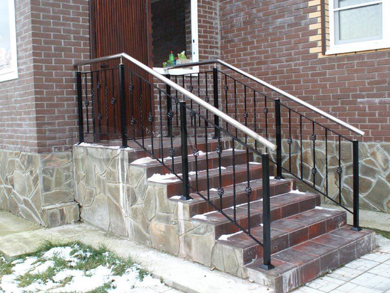 Лестничные ограждения фото в частных домах