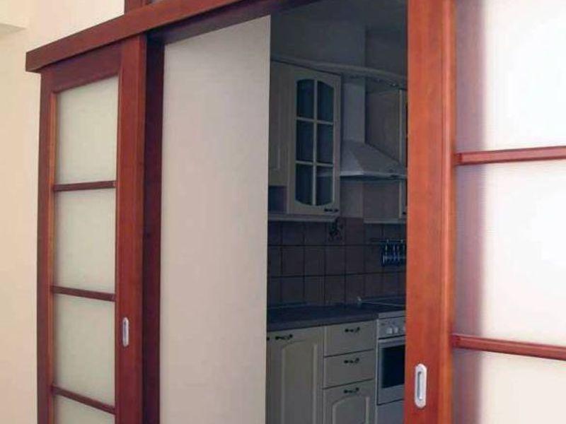 Откатные двери межкомнатные