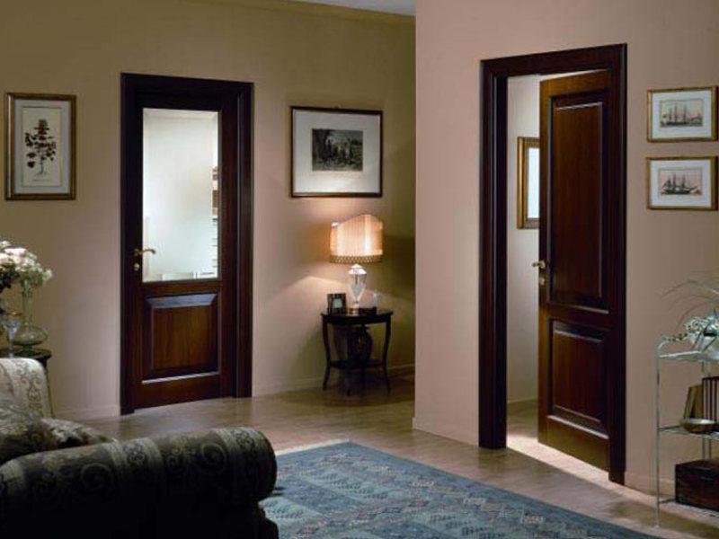 Фото межкомнатных дверей в интерьере дома