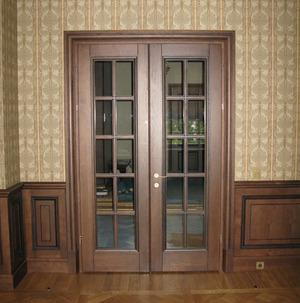 Двери межкомнатные и входные из массива дуба, ясеня и