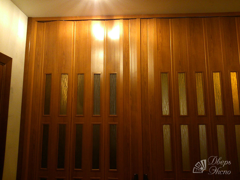 Ремонт двери гармошки видео 151