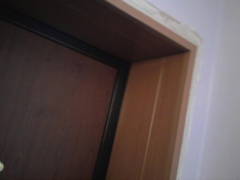 Отделка откосов входных дверей мдф видео