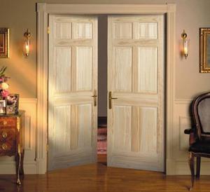 Межкомнатные распашные двойные двери: типы, виды, размеры и основы монтажа