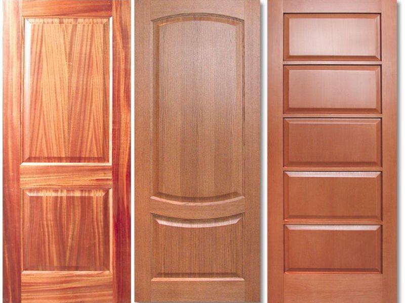 деревянные межкомнатные двери свойства древесины виды на фото и