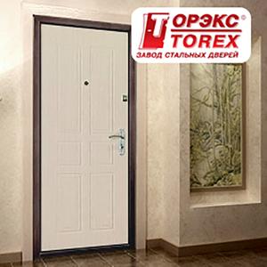 Входные двери Торэкс - фото изделий в магазине.