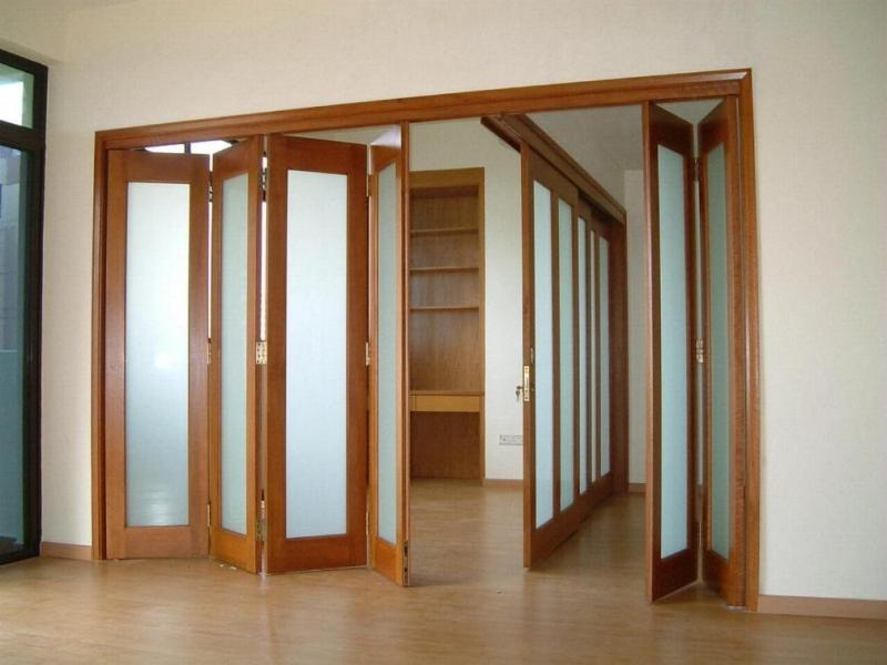 Размеры дверей гармошка