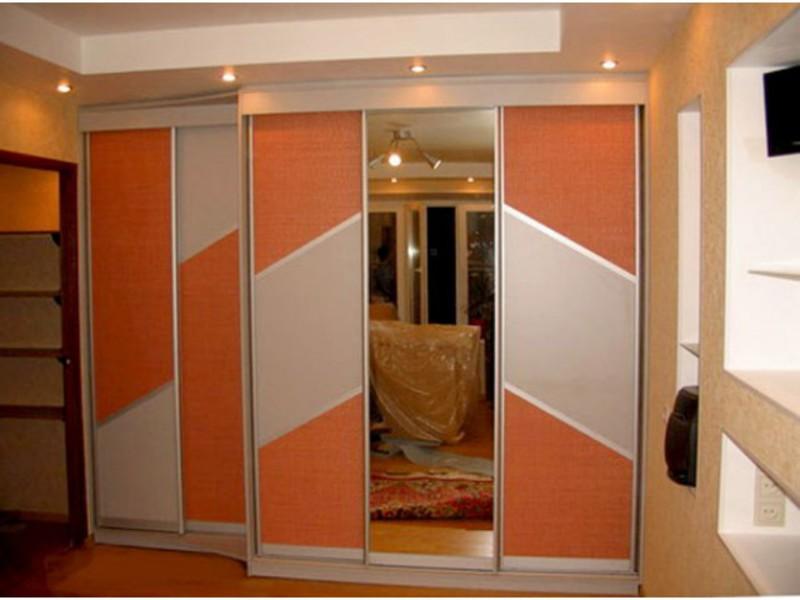Двері купе для гардеробної фото