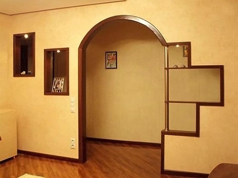 Дизайн арки своими руками